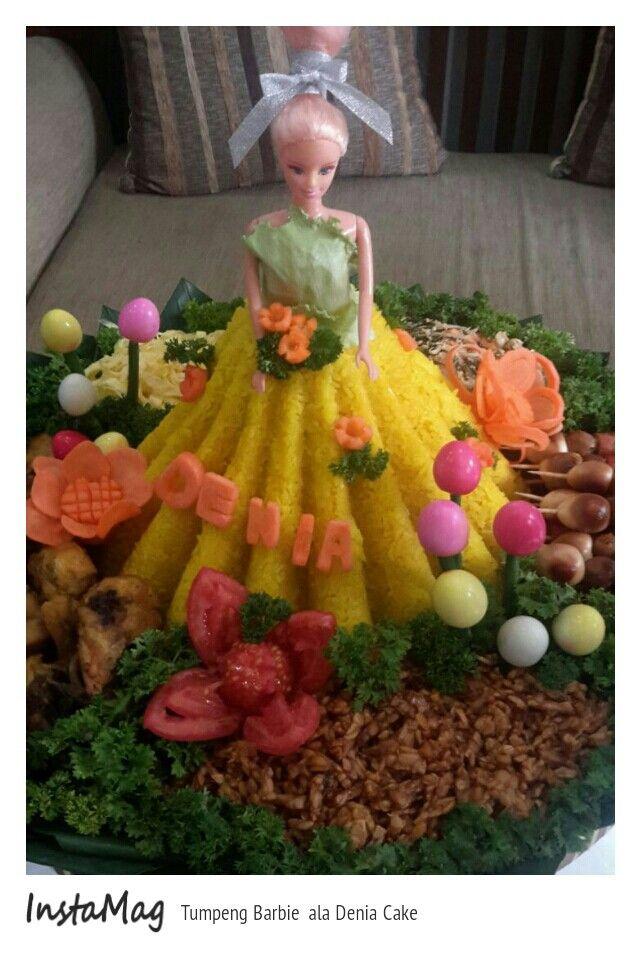 Tumpeng Barbie