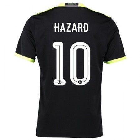 Chelsea 16-17 Eden #Hazard 10 Udebanesæt Kort ærmer,208,58KR,shirtshopservice@gmail.com
