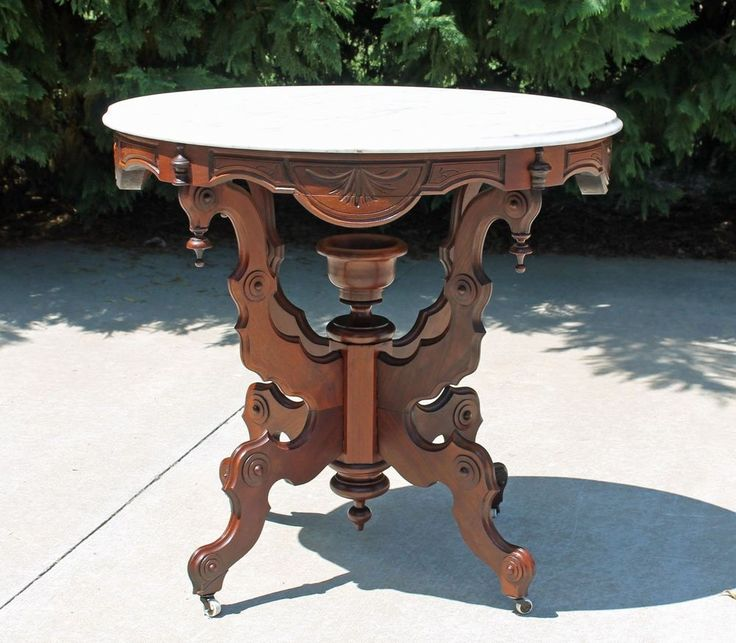 Victorian Marble Coffee Table: 21 Best Walnut Marble Top Tables Images On Pinterest