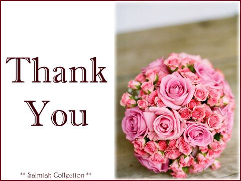 Salmiah Collection: Thank You Card 32