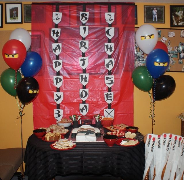 Lego Ninjago Birthday Party Google Search: 1000+ Images About Ninjago Party Ideas On Pinterest