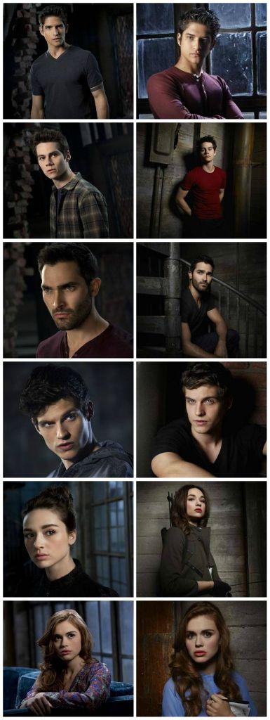 #TeenWolf Cast Season 3 & 3B | Collage ♥ | Pinterest ...