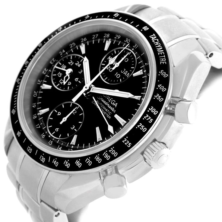 15036 Omega Speedmaster Day Date 40mm Chronograph Mens Watch 3220.50.00 SwissWatchExpo