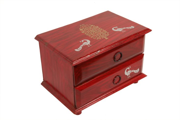 Peacock Chest-Red