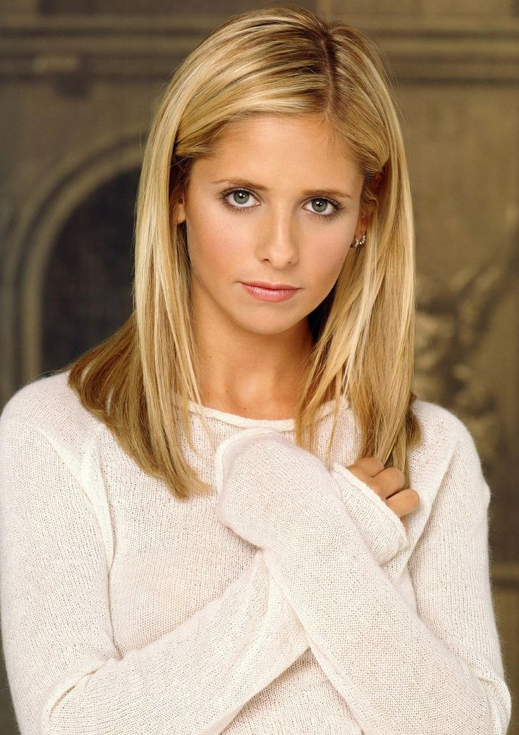 "Sarah Michelle Gellar as Buffy Summers from Joss Whedon's ""Buffy the Vampire Slayer"""