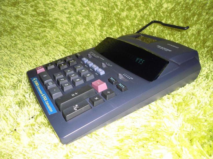 Druckender Tischrechner Casio FR-620TER Euro & Tax