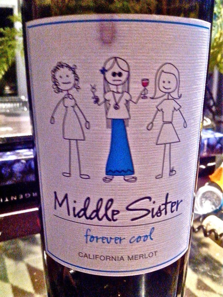 Papo de Vinho: Provei a irmã do meio da Califórnia. Middle Sister...