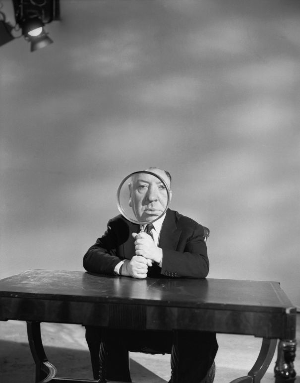 Alfred Hitchcock. @designerwallace