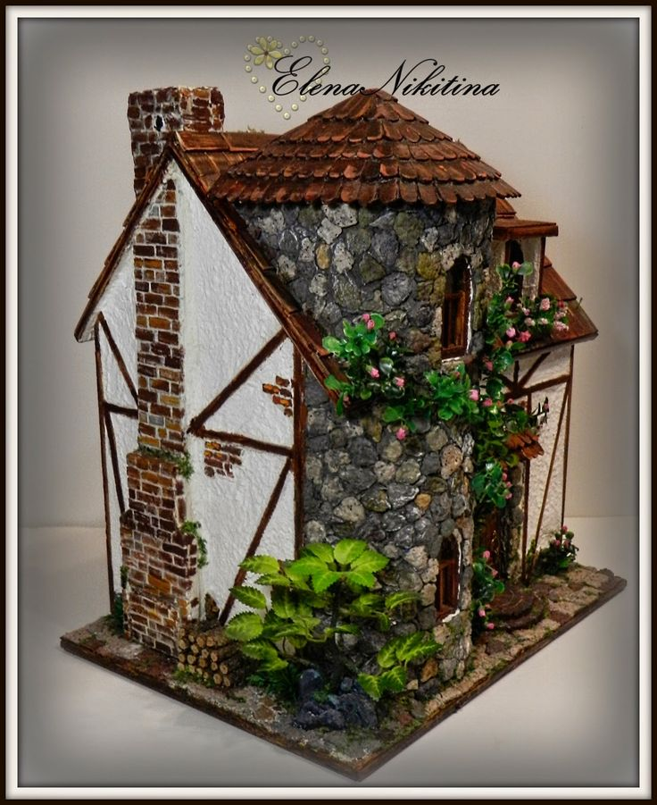 HandMade ElenaNikitina: House, almost castle.