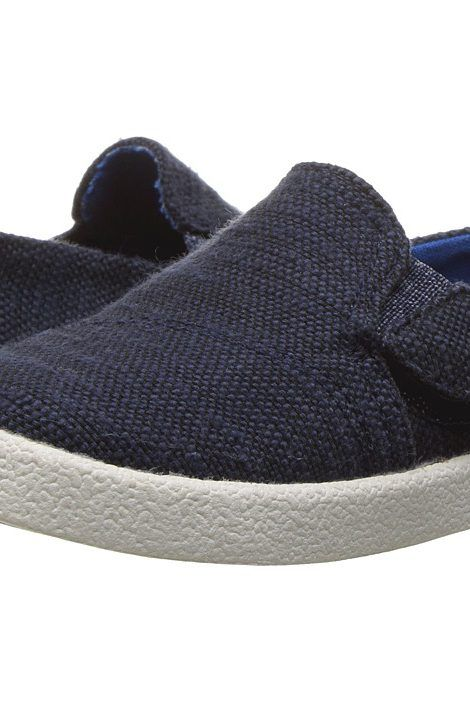 TOMS Kids Avalon Slip-On (Infant/Toddler/Little Kid) (Navy Slubby Linen) Kids Shoes - TOMS Kids, Avalon Slip-On (Infant/Toddler/Little Kid), 10007485-101, Footwear Closed Slip on Casual, Slip on Casual, Closed Footwear, Footwear, Shoes, Gift - Outfit Ideas And Street Style 2017
