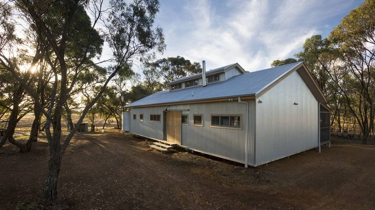 The Shearing Shed home in Torrumbarry. Photo: SUPPLIED.                                                                               More