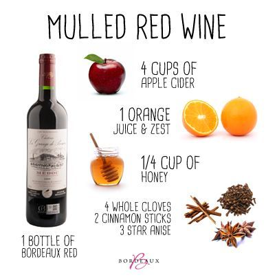 Mulled Red Wine Recipe for Holiday Drink