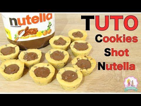 Elle vous montre comment faire des cookies moelleux au nutella - C'est fait maison !