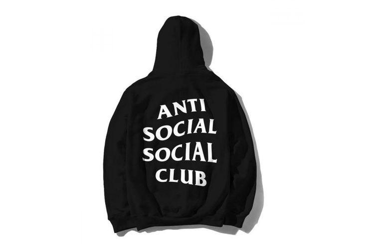 Худи Anti Social Social Club - Black