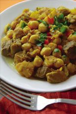 Typical recipes of Canary gastronomy - Gran Canaria – The Canaries. Papas Arrugadas con Mojo, Mojo Rojo, Ropa Vieja, Carajacas, Pata Asada (other categories on the Gastronomy page)