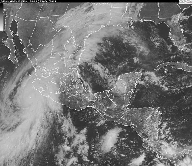 Huracán Patricia es el más poderoso registrado en el Hemisferio Occidental - http://webadictos.com/2015/10/23/huracan-patricia-el-mas-poderoso/?utm_source=PN&utm_medium=Pinterest&utm_campaign=PN%2Bposts