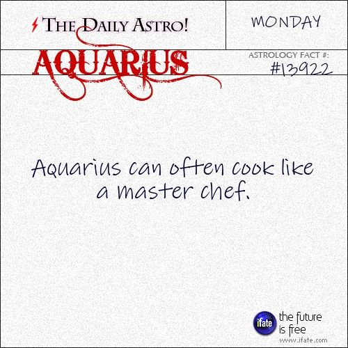 Aquarius 13922: Check out The Daily Astro for facts about Aquarius.Click here to try a free tarot reading :)