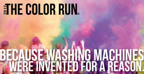 Because washing machines were invented for a reason...The Colors Running, December, Cant Wait, Boise Idaho, Orange County, Colors Vibes, Wash Machine, Chicago, Thecolorrun