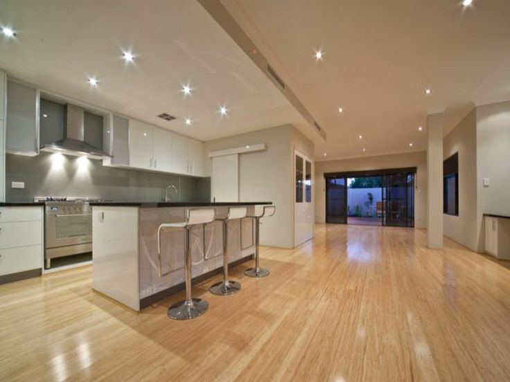 kitchens image: creams, greens - 936656....lovely light timber floors