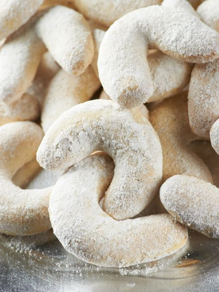 Vanilla Kifli #Cookies on Sunday. What's the Most Unusual Cookie #Recipe You Make? #cookieexchange