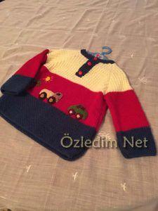 Baharlık Örgü Çocuk Kıyafetleri | Ozledim.Net