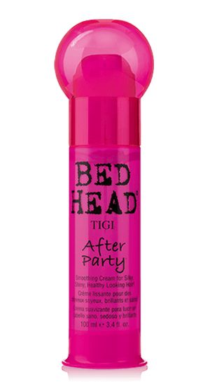 This is THE best stuff for smoothing hair. Always worth it. Bed Head by TIGI | Products | Styling | Smooth Frizz Control | After Party