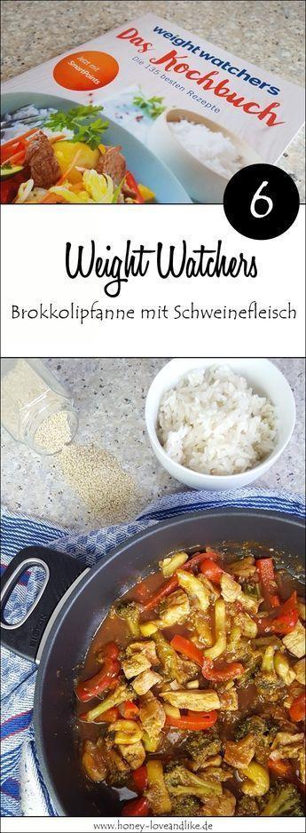 Mega lecker die WW Brokkolipfanne aus dem Weight Watchers Kochbuch.   – Rezepte