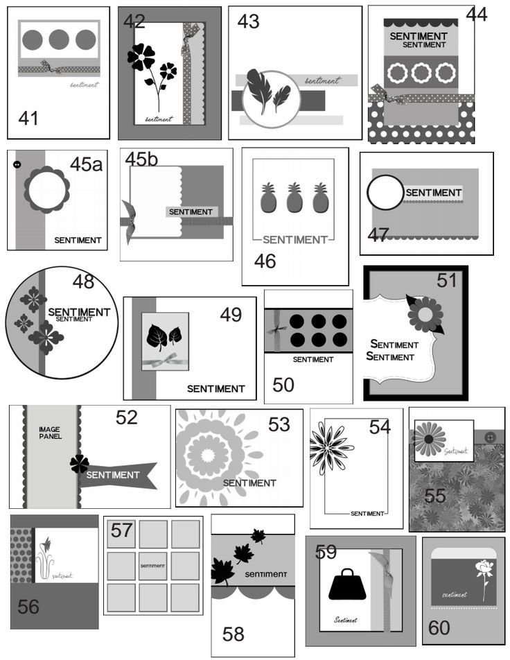 Found On Bing From Www Pinterest Com Card Layout Card Sketches Card Sketches Templates
