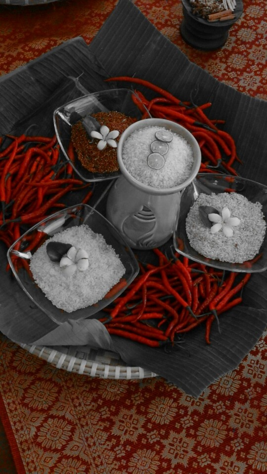A variant of traditional rice from Solok Selatan, Sumatra Barat, Indonesia