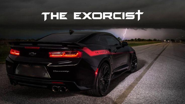 La firma estadounidense Hennessey hizo modificaciones a un Camaro ZL1 y obtuvo un resultado asombroso: The Exorcist para el Challenger Demon.