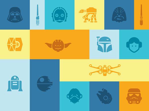 Star Wars Icons by  Jory Raphael!