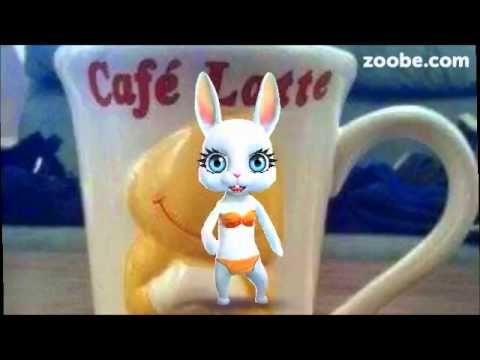 Eine Latte am Morgen...vertreibt Kummer und Sorgen ;-) Kaffee, Zoobe, Animation - YouTube