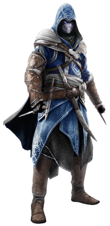 Tania 043 Wait Garrus Assassin S Creed Dragon Ball Z Fan