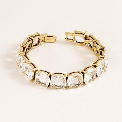 Crystal Milano bracelet: jcrew
