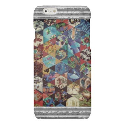 MultiColoured Arts Pattern Glossy iPhone 6 Case - modern gifts cyo gift ideas personalize