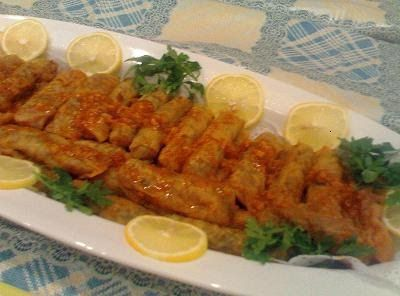Malfouf Recipie (Cabbage rolled)