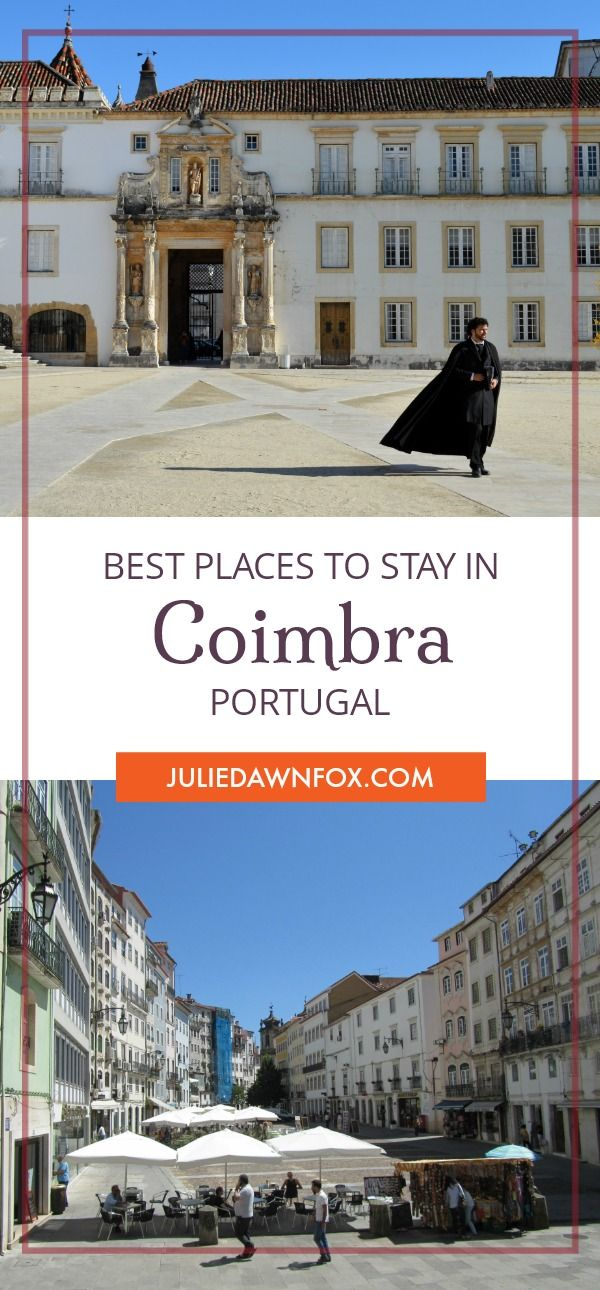 Which area and accommodation is best for an overnight stay in Coimbra, central Portugal? Find out in this insider guide to the city of Coimbra and its best hotels, apartments and guesthouses. ****************************** hotels in Coimbra | apartments in Coimbra | Coimbra hotels| Coimbra neighborhoods | Best place to stay in Coimbra Portugal
