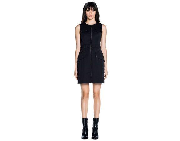 CUE - Cotton twill utility dress. Made in Australia.