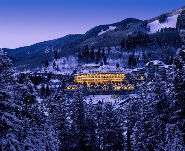 The Pines Lodge at Beaver Creek Resort in Beaver Creek, Colorado.