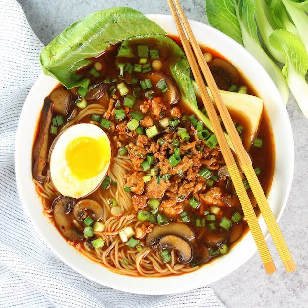Savory, soothing, and so slurpalicious! The comfort of mom's homemade soup, the flavor of a classic miso, and a kick of heat.