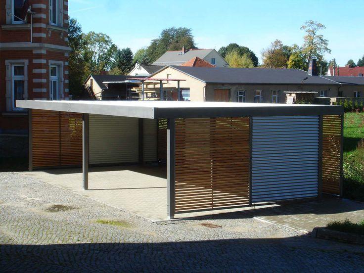 design metall carport aus holz blech stahl dresden deutschland,