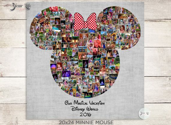 MAGICAL VACATION- Minnie Mouse, Disney Photo Album, Family Trip to Disney World, Disney Family Vacation, Disney Valentines Photo Album