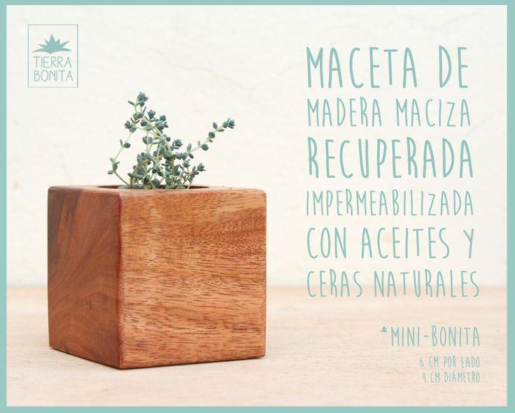 17 best images about nuestros productos on pinterest - Macetas de madera ...
