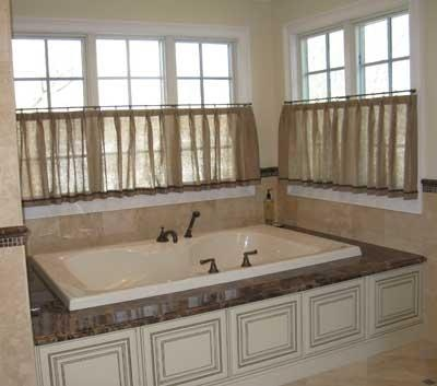 Best Bathrooms Images On Pinterest Bath Ideas Bathroom - Cafe curtains for bathroom for bathroom decor ideas