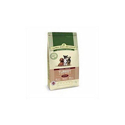 James Wellbeloved Dog Food Turkey and Rice Adult Small Breed (1.5kg) >>> Check this awesome product by going to the link at the image.