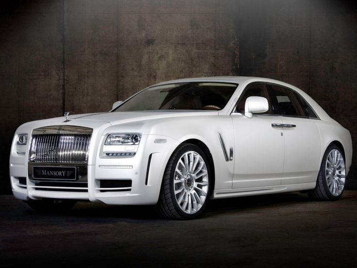 rolls royce - prefer the ghost!