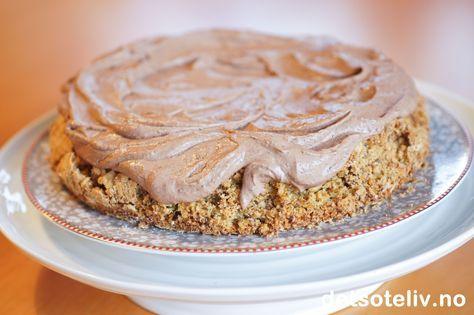 En DEILIG, DEILIG kake - helt gjennombløt av Baileys og sjokoladekrem:-)