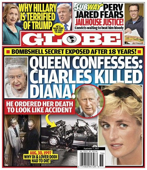 Sunday August 30, 2015 will mark the 18th anniversary of Princess Diana's tragic death. Nearly two decades have passed since Prince Charles' wife...