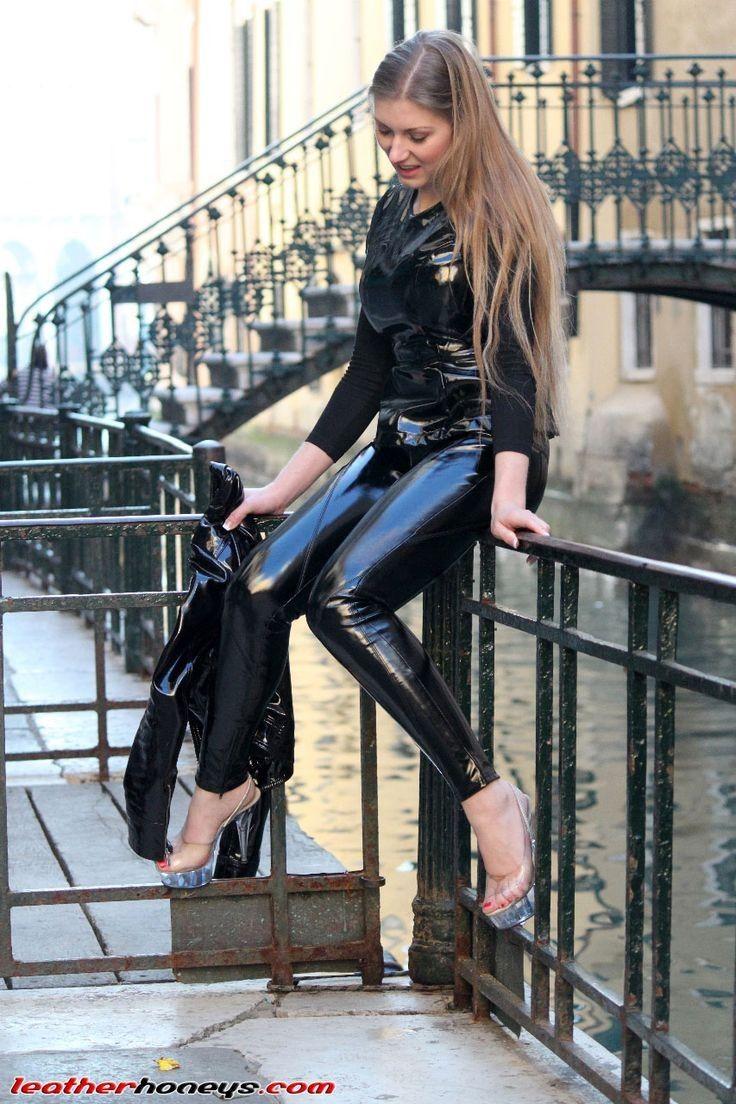 Pvc jacket and leggings   Public Fetishist   Leggings, Leather und Latex  pants 4b37eb5d1c