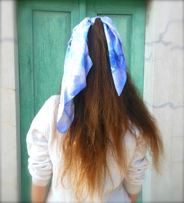#hairstyle #foulard#girl #blogger #green #lighrbliur #liliac #shatoush